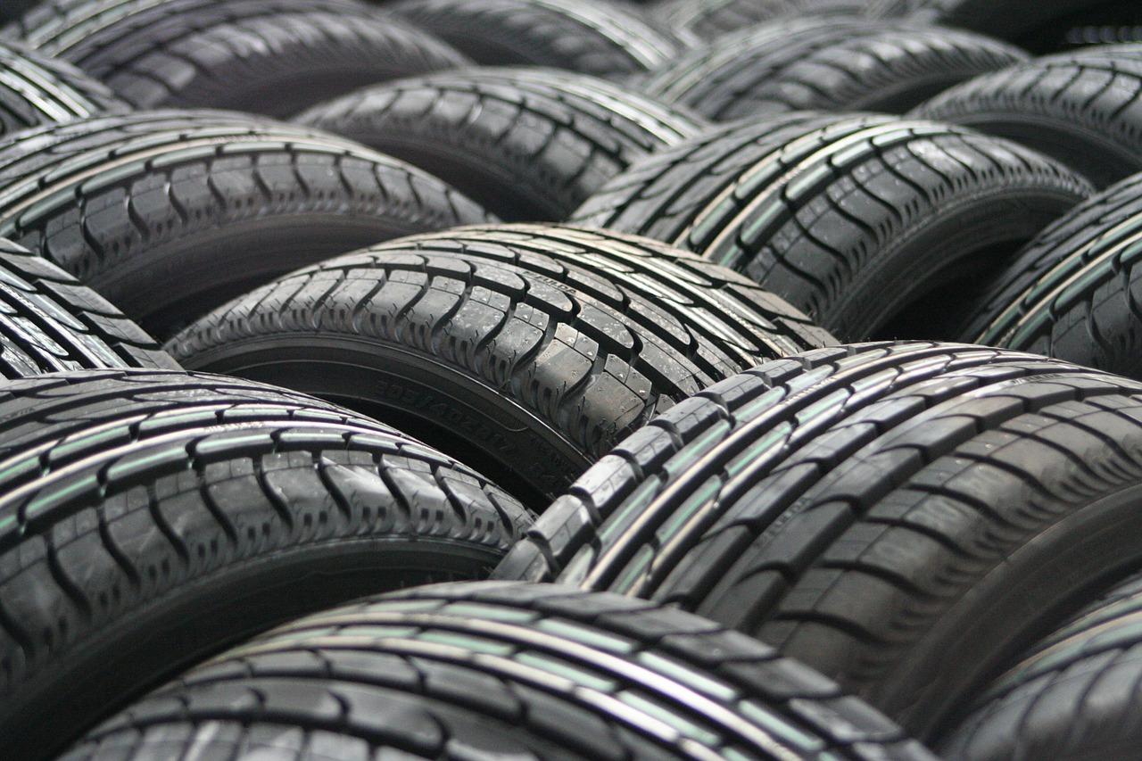 dibujo de los neumáticos