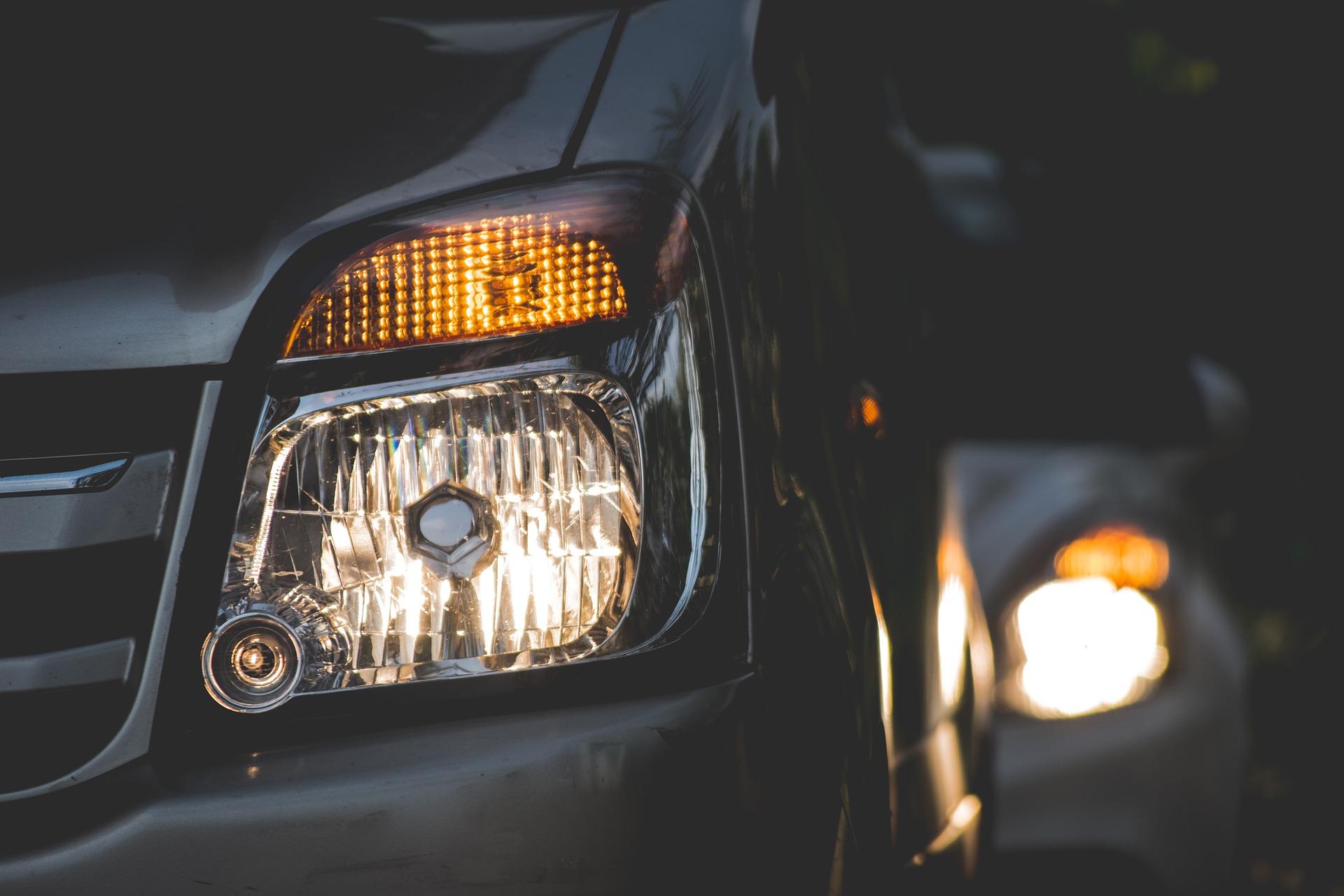 luces en la conducción
