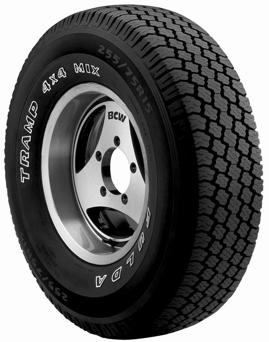 Neumático FULDA TRAMP MIX 205/70R15 96 S