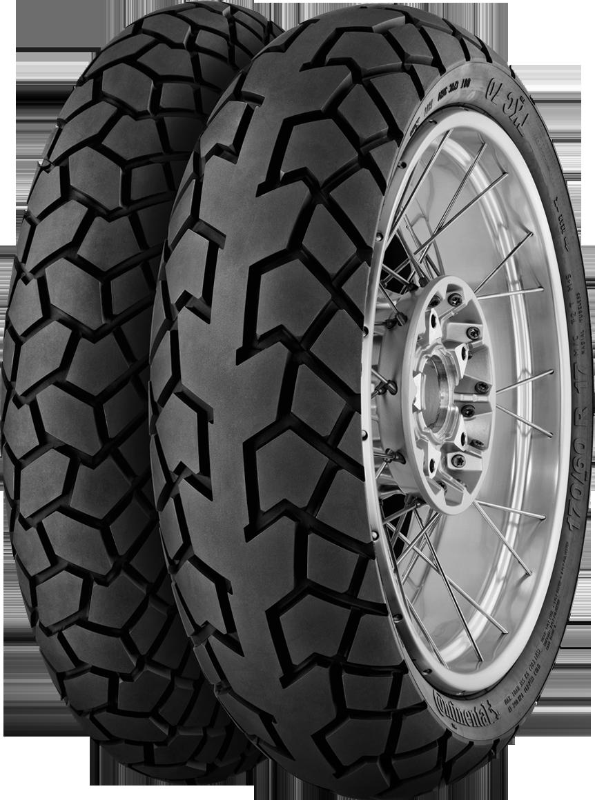 Neumático CONTINENTAL TKC70 120/70R17 58 W