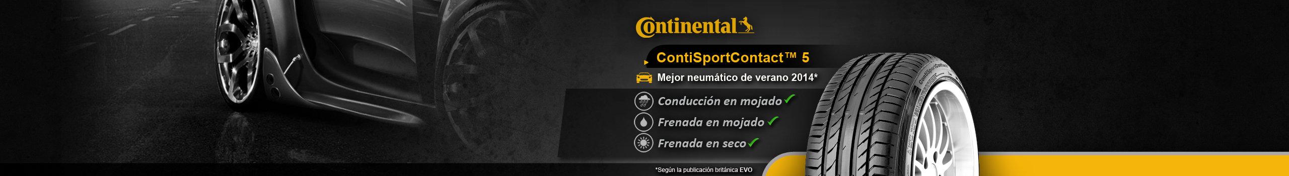 Neumático Continental ContiSportContact5